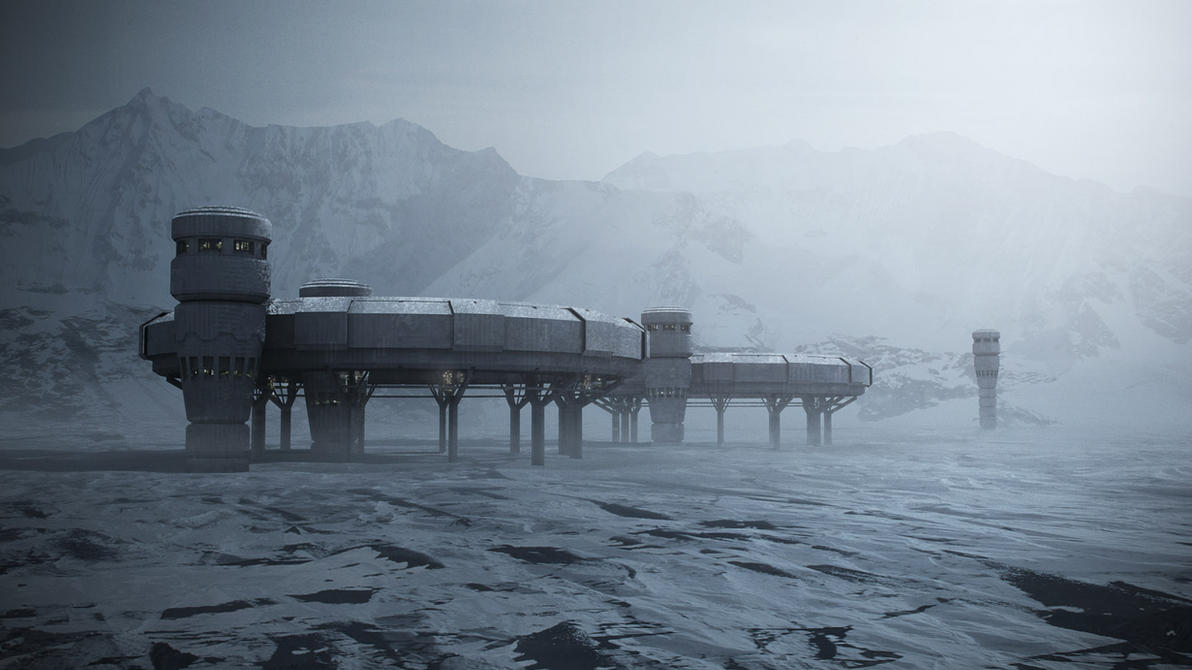 Snow Matte Painting by steve-burg