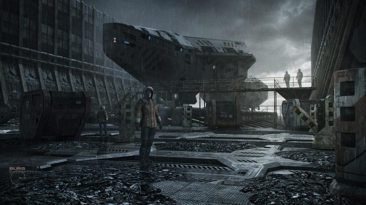 Abandoned Docks III by steve-burg