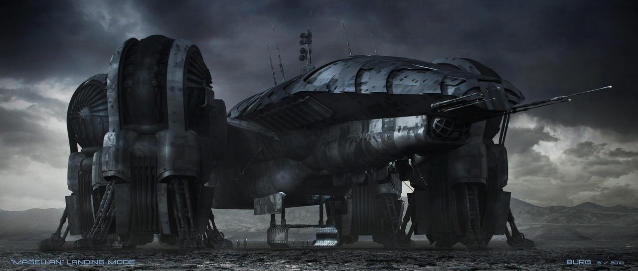 Prometheus a.k.a.Magellan by steve-burg