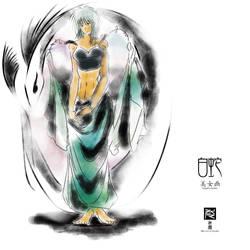 White Naga by hyouma01