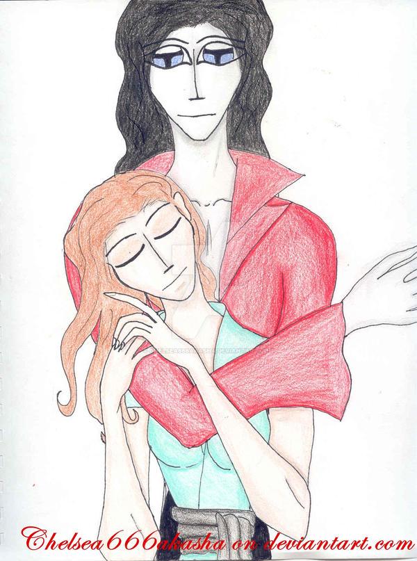 Youkuro and Rachel by chelsea666akasha