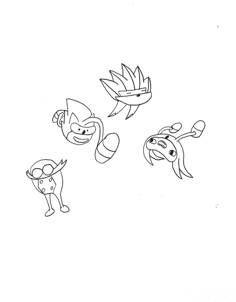 Snek and Friends by Skunkywaffles