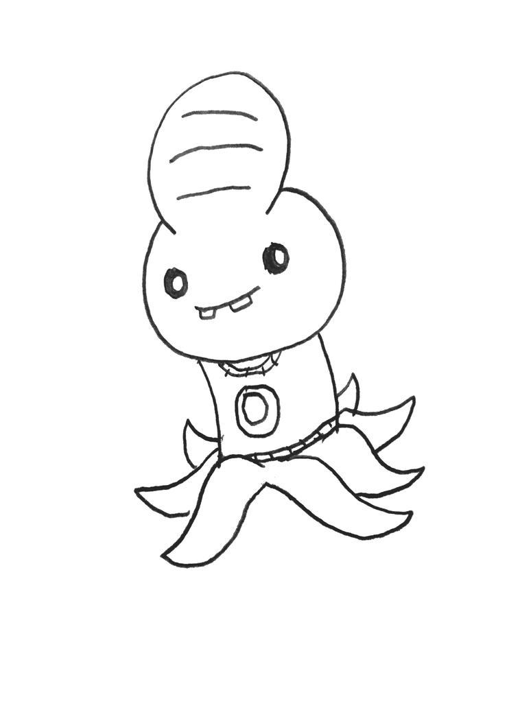 Octo-Guy! by Skunkywaffles