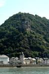 Mountain castle mosel region