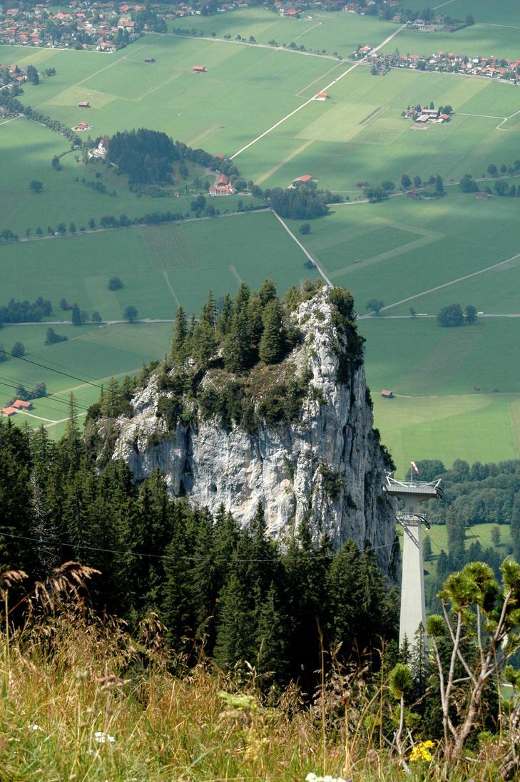 Tegelberg detail Alps by BlokkStox