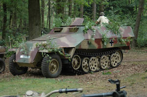 SdKfz 251 D Halftrack by BlokkStox
