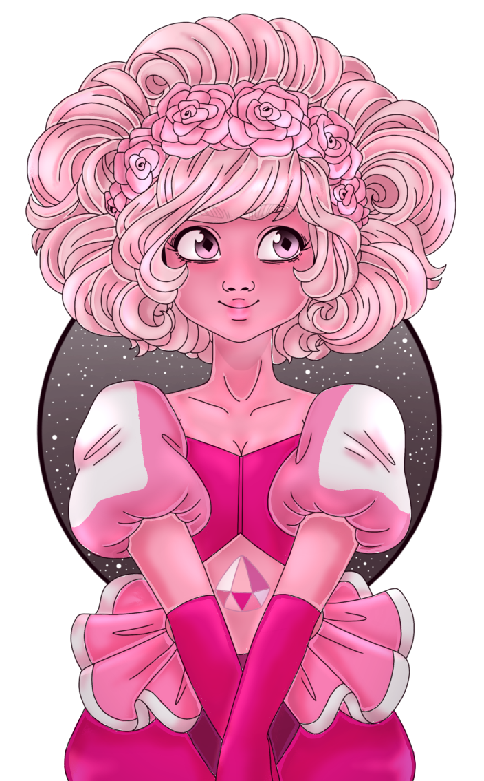 ART COLLAB WITH Lineart- BluebirdsandCanaries  Coloring- me!! Pink diamond (c) Rebecca Sugar/ Crewniverse/ Steven Universe ========================== Want to commission me? Link here: www...