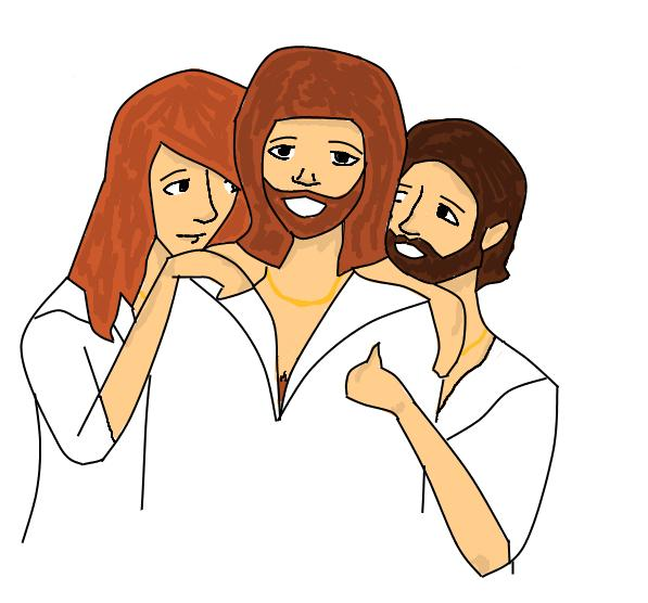 It's the Bee Gees X3 by caspisan