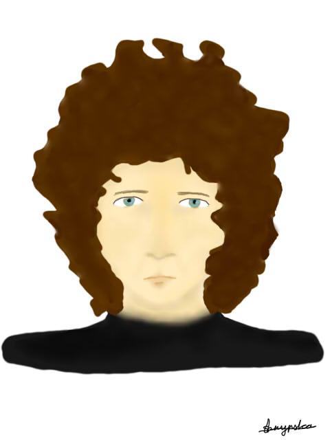 Bob Dylan by caspisan