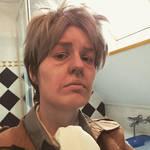 auruo / oluo cosplay make up test by caspisan