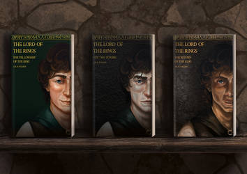 Lord Of The Rings Books Redesign by Cypcus