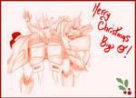 Secret Santa Exchange - Merry Xmas Big O! by Airaly