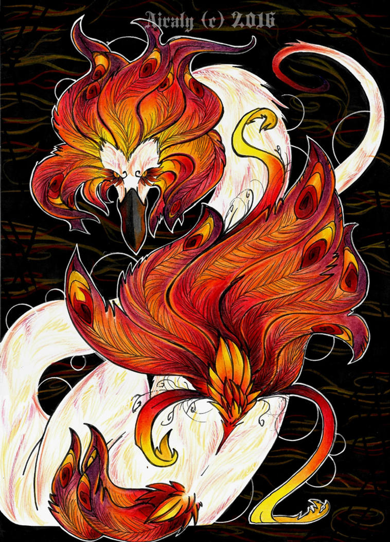 Flames or Feathers by Airaly