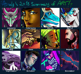 2018 Summary of Art by Airaly