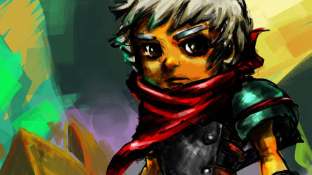 Bastion, The Kid by ZutaraRaven