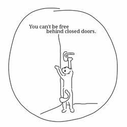 Ron thinks (92). Doors vs. freedom