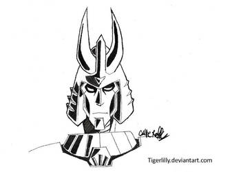 Inktober: Cyclonus by TigerLilly9