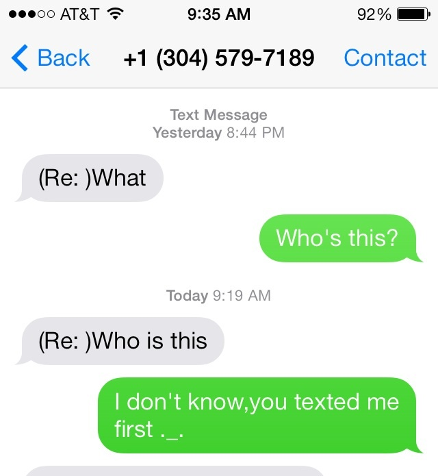 how to start a text conversation with a stranger girl