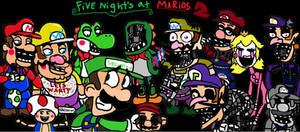 Five nights at Mario's 2 by Oswaldtoonfan