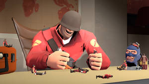 Bored in 2fort- Soldier