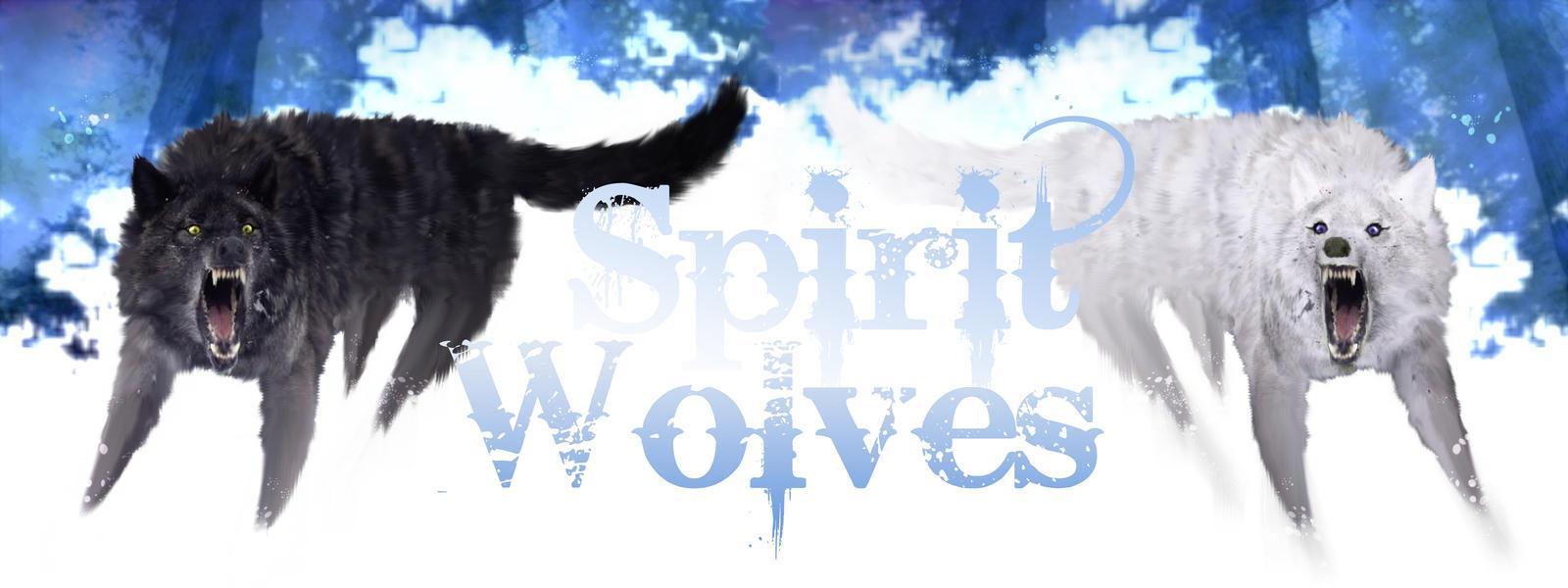Spirit wolves by pezfish26