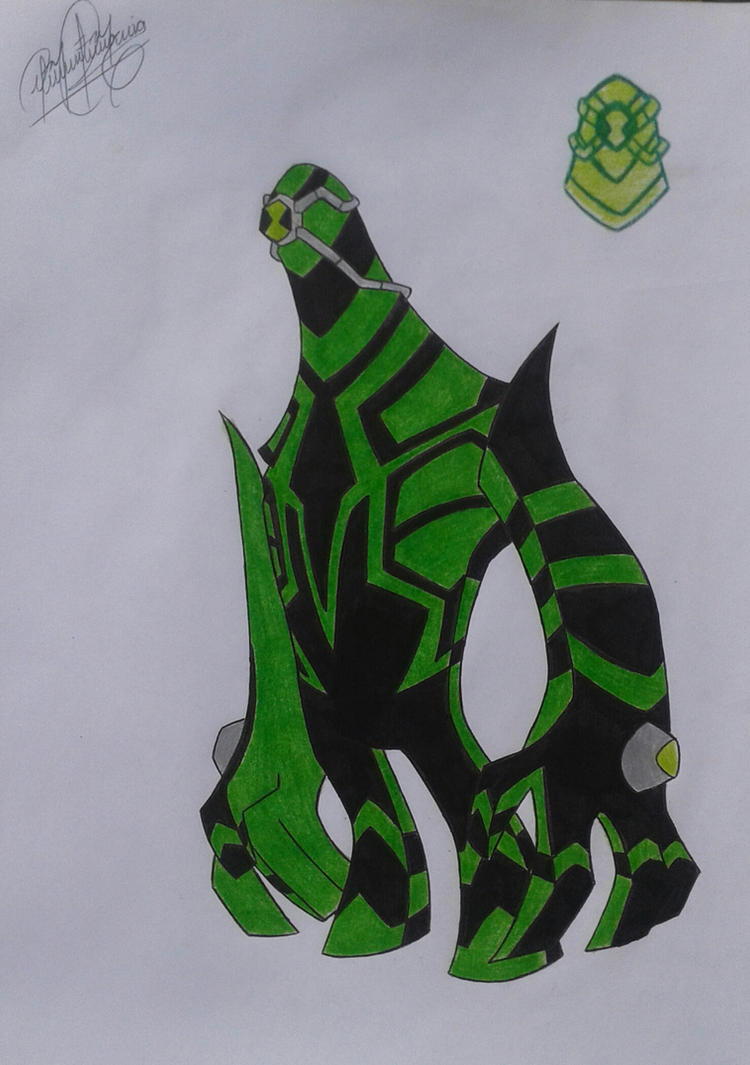 Ben 10 ultimate alien ben victor