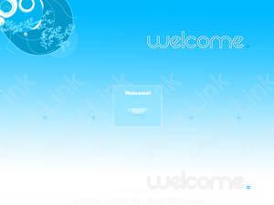 Digital Link Welcome Screen