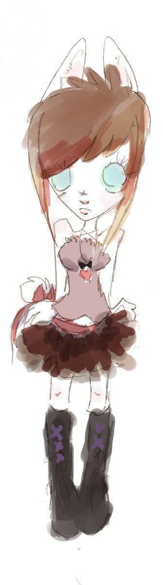 lulu with a tutu by lollipopsocks