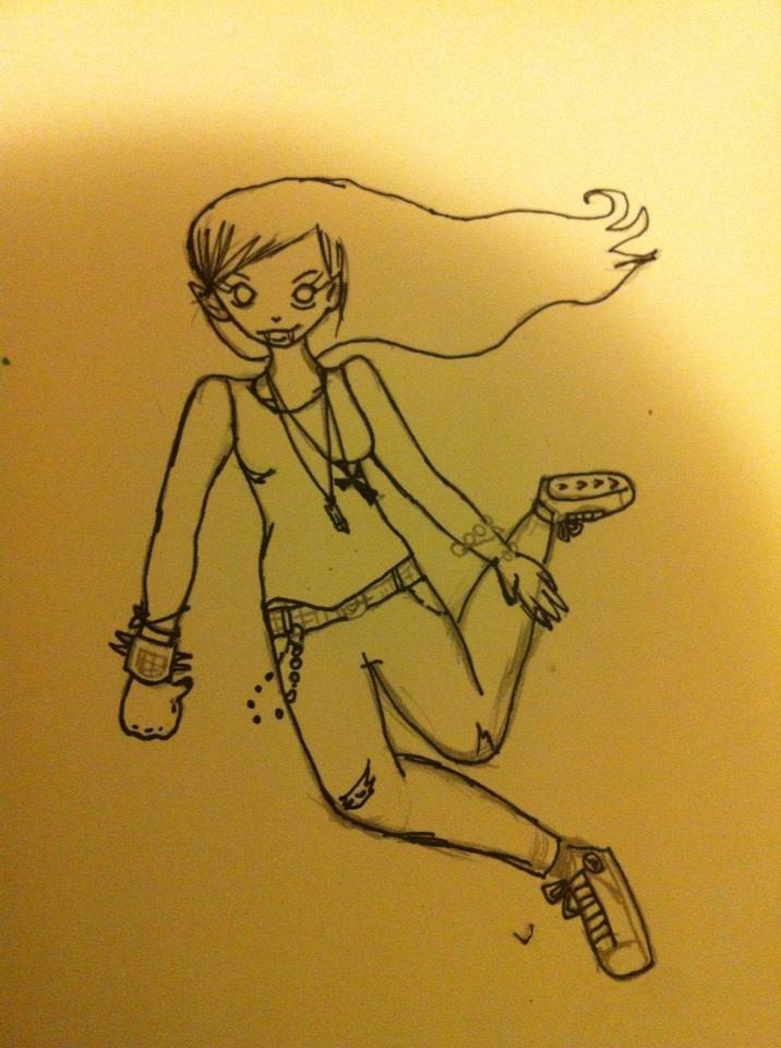 Marceline WIP by lollipopsocks