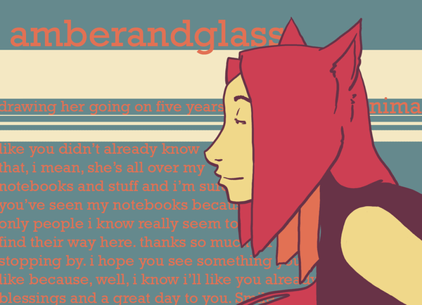 amberandglass's Profile Picture