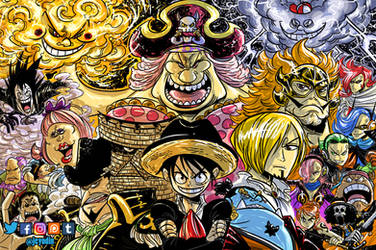 Onepiece_ Whole Cake Island by Jey09