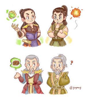 Shangtsung and Shujinko