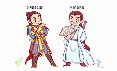 Shangtsung and Lvdongbin