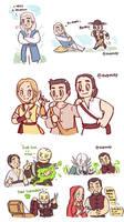 MK Conquest Doodles