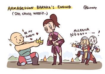 Be My Queen (Baraka's Armageddon Ending)