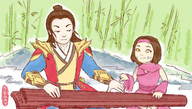 Play Guqin with Sorcerer