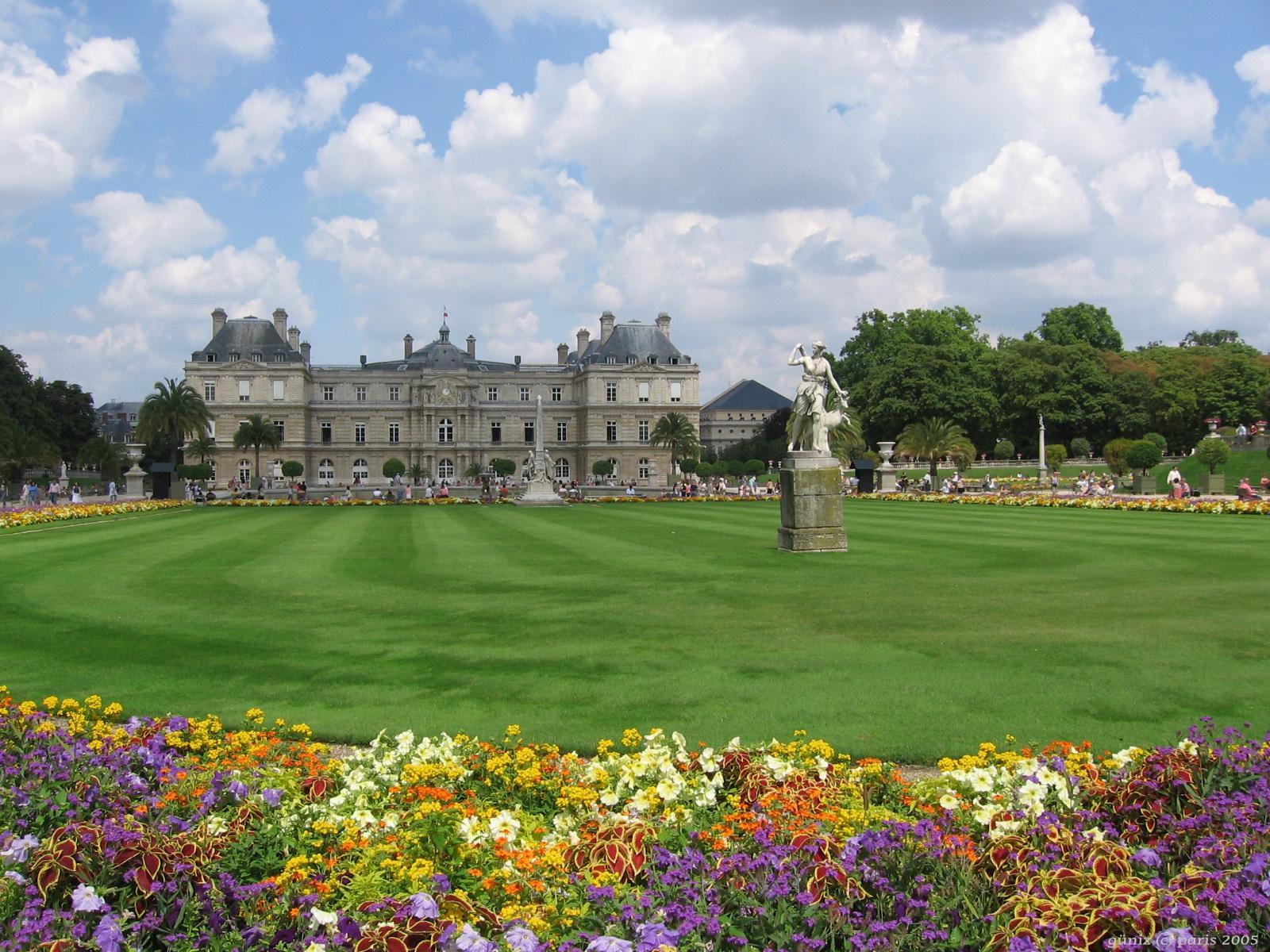 Jardin du luxemburg paris by ancelique on deviantart for Art du jardin zbinden sa