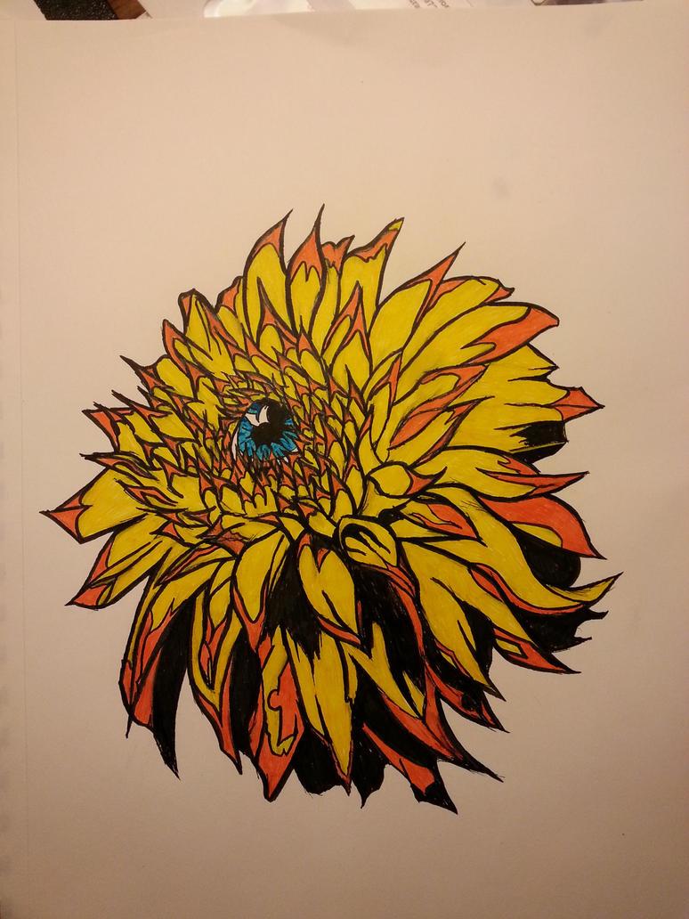 Dahli-eye by Deniem