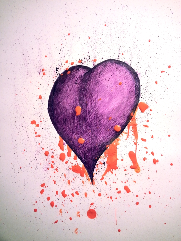 Pollock Heart by Deniem