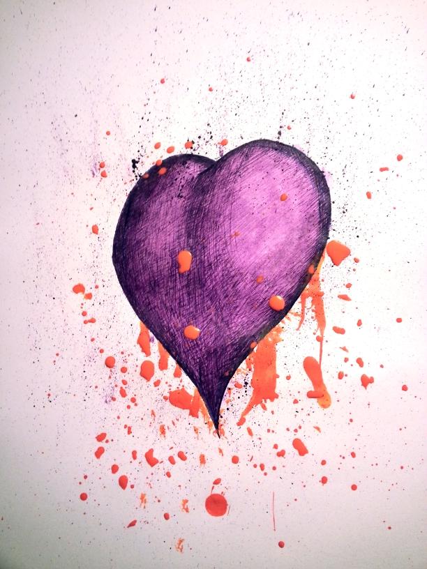 Pollock Heart by Deniem