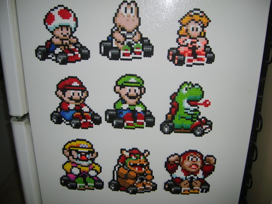 Super Mario Kart Magnets by ShampooTeacher