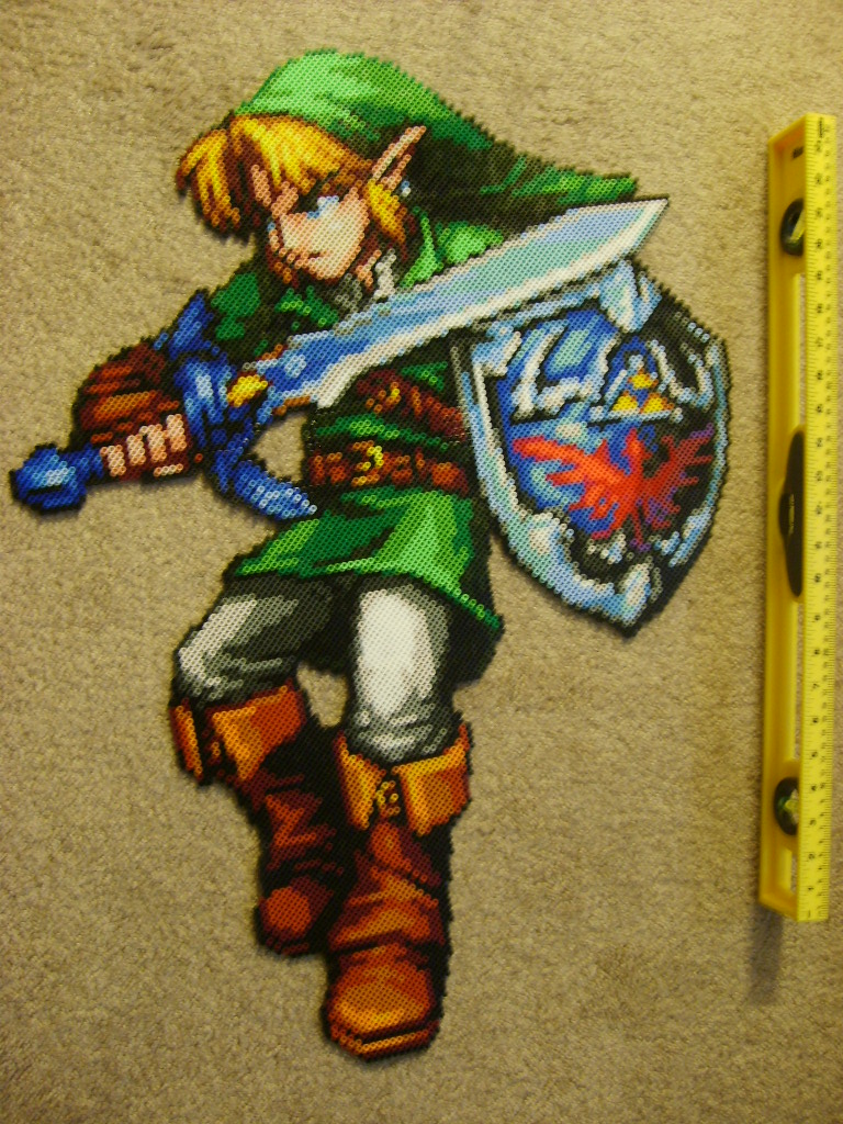 Link Bead Art by ShampooTeacher