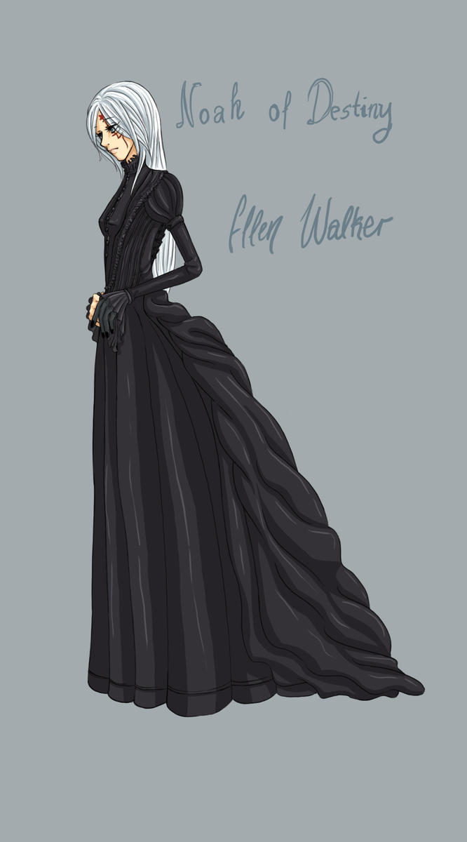 Ellen in her black dress by Silly-Blue