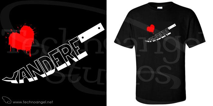 Shirt-Yandere by technoangelstudios