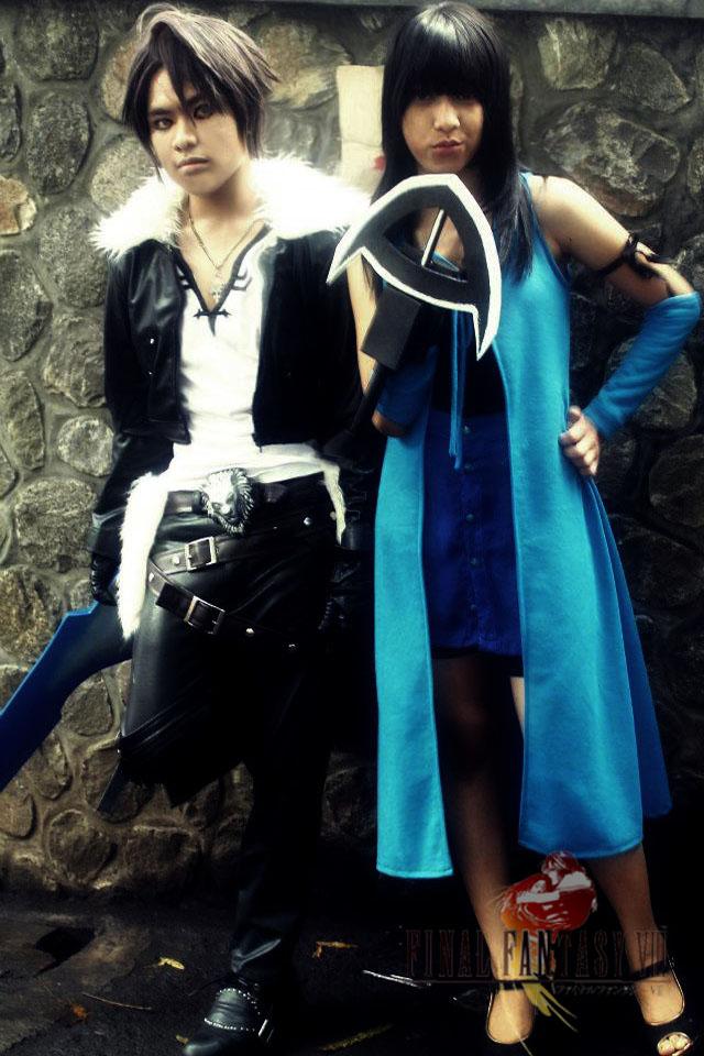 Squall And Rinoa Cosplay Squall And Rinoa Cosplay