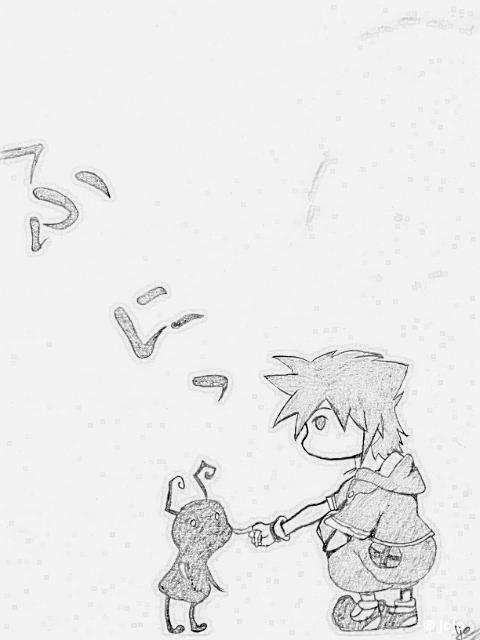 Sora Kingdom Hearts by JoJoAsakura