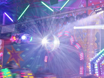 { Disco lights }
