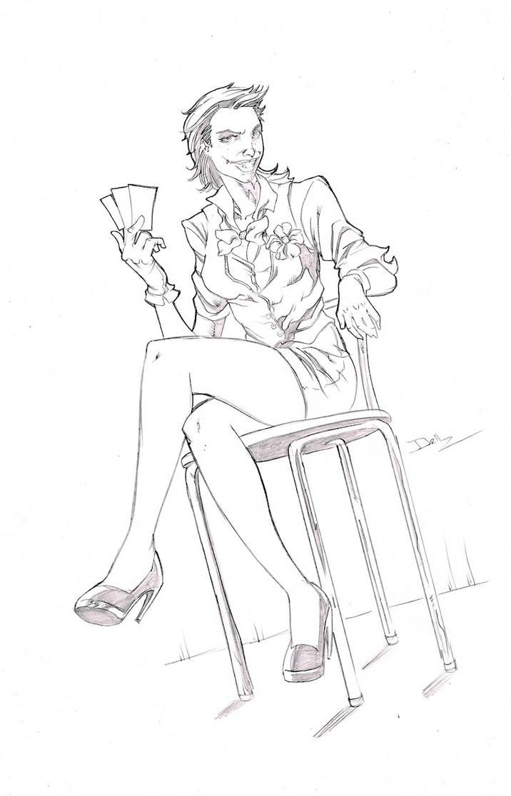 sexy joker by johndinc