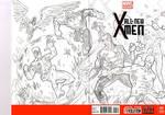 X-men blank cover art