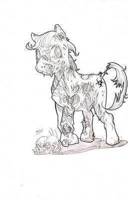 Pony zombie